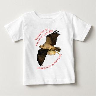 Warning: Pilots Can Be Baby T-Shirt