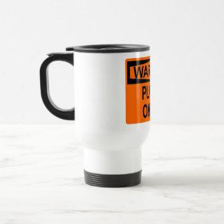 Warning: Player On Tilt Travel Mug