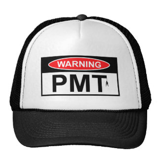 Warning PMT Mesh Hat