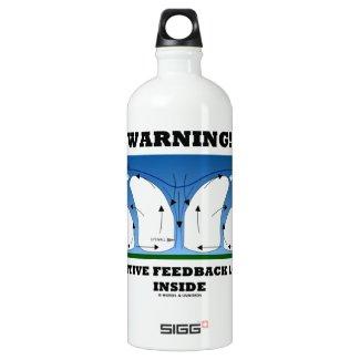 Warning! Positive Feedback Loop Inside Clouds SIGG Traveler 1.0L Water Bottle