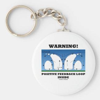 Warning! Positive Feedback Loop Inside Keychains