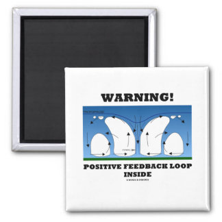 Warning! Positive Feedback Loop Inside Magnet
