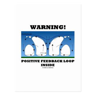 Warning! Positive Feedback Loop Inside Post Cards