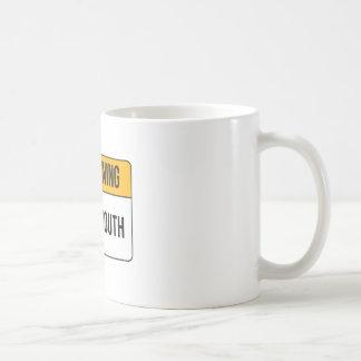 Warning - Potty Mouth Coffee Mug