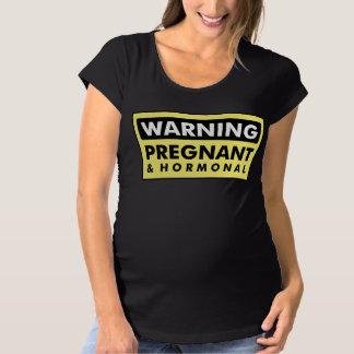 Warning: Pregnant & Hormonal Shirt
