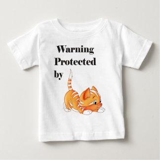 Warning Protected by Shirt