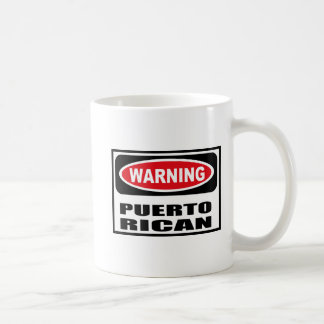 Warning PUERTO RICAN Mug