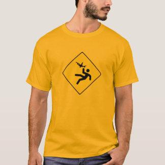 Warning Quadcopter T-Shirt
