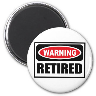 Warning RETIRED Magnet