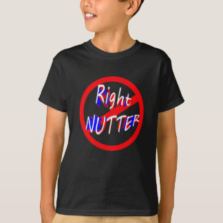 warning right nutter T-Shirt