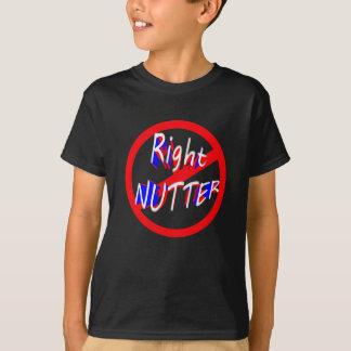 warning right nutter T-Shirt