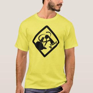 WARNING!!! (robots crossing) T-Shirt