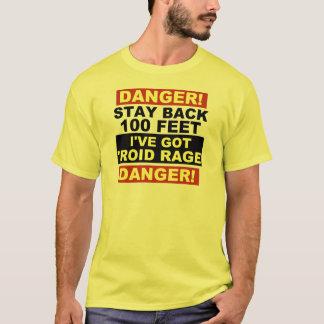 Warning Roid Rage T-Shirt