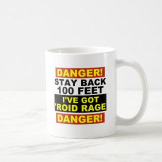 Warning Roid Range Coffee Mug