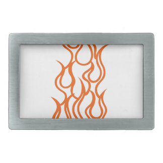 Warning Short Fuse Rectangular Belt Buckle