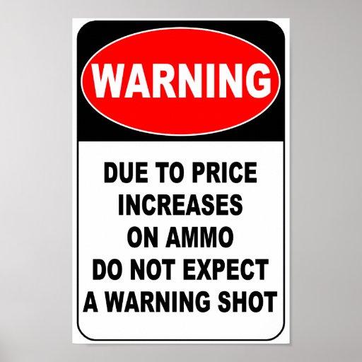 Warning Shot Posters