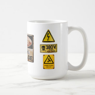 Warning Sign 005 Coffee Mug