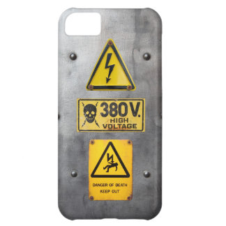 Warning Sign 05 iPhone 5C Cover