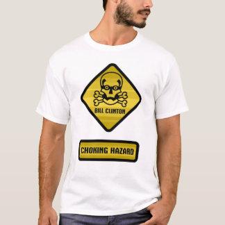 Warning Sign - Bill Clinton T-Shirt