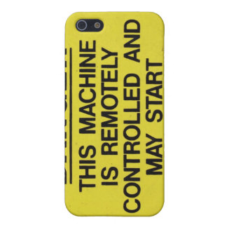 warning sign Iphone4 casing iPhone SE/5/5s Cover