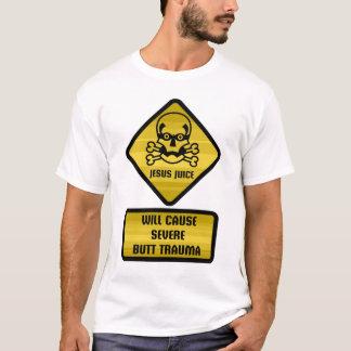 Warning Sign - Jesus Juice T-Shirt