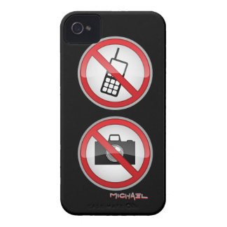 Warning Signs Blackberry Bold Case-Mate Case