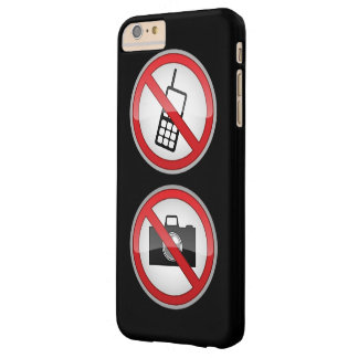 Warning Signs Funny Barely There iPhone 6 Plus Case