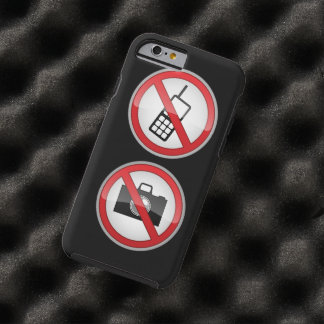 Warning Signs Funny Tough iPhone 6 Case