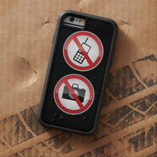 Warning Signs Funny Tough Xtreme iPhone 6 Case