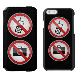 Warning Signs iPhone 6/6s Wallet Case