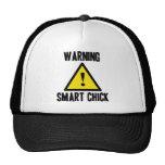 Warning Smart Chick Hat