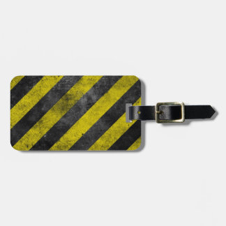 Warning Stripes Bag Tag