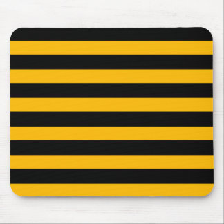 warning-stripes mouse pad