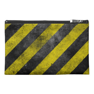 Warning Stripes Travel Accessory Bag