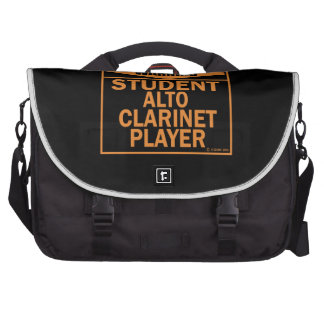 Warning! Student Alto Clarinet Player! Commuter Bags