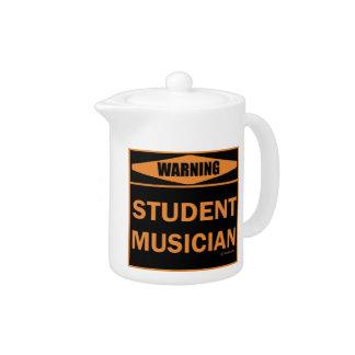 Warning! Student Musician!