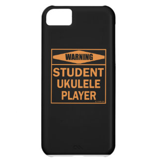 Warning! Student Ukulele Player! iPhone 5C Cover