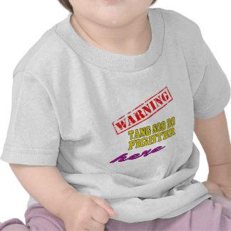 Warning Tang Soo Do Fighter T Shirts