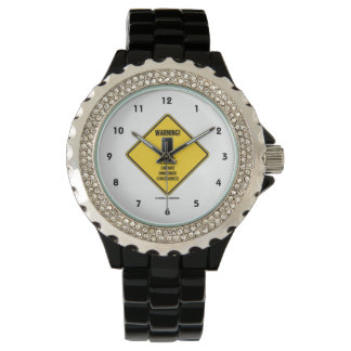 Warning! Technology Unintended Consequences Wristwatch