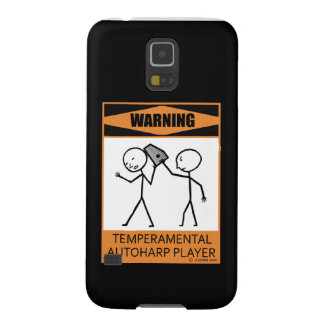Warning! Temperamental Autoharp Player Case For Galaxy S5