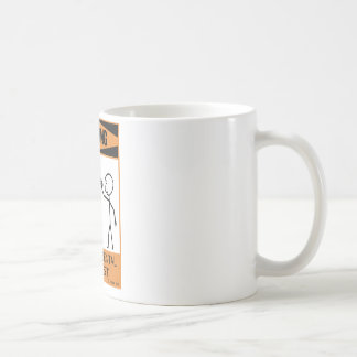 Warning Temperamental Cellist Coffee Mug