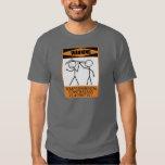 Warning Temperamental Contrabass Clarinetist T Shirt