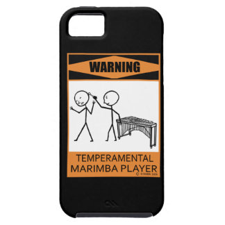 Warning! Temperamental Marimba Player iPhone SE/5/5s Case