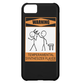 Warning! Temperamental Synthesizer Player iPhone 5C Cover