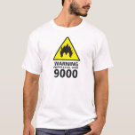 Warning the power its over 9000 playera