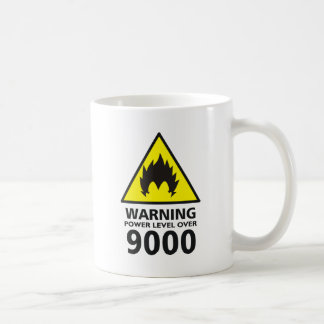 Warning the power its over 9000 taza