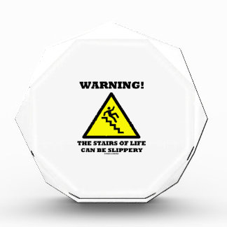 Warning! The Stairs Of Life Can Be Slippery Award