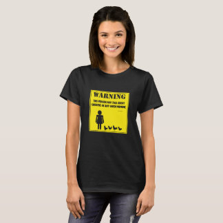 Warning:  This Person May Talk About Chickens T-Shirt