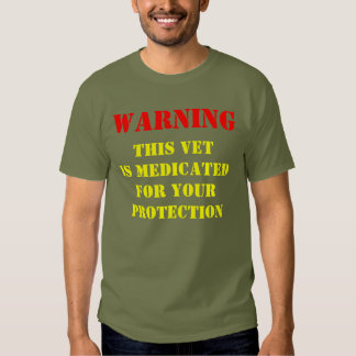 WARNING: THIS VET IS MEDICATED DRESSES