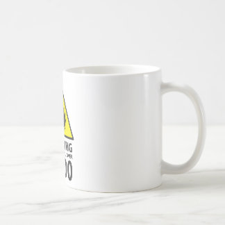 Warning to power its to over 9000 coffee mug